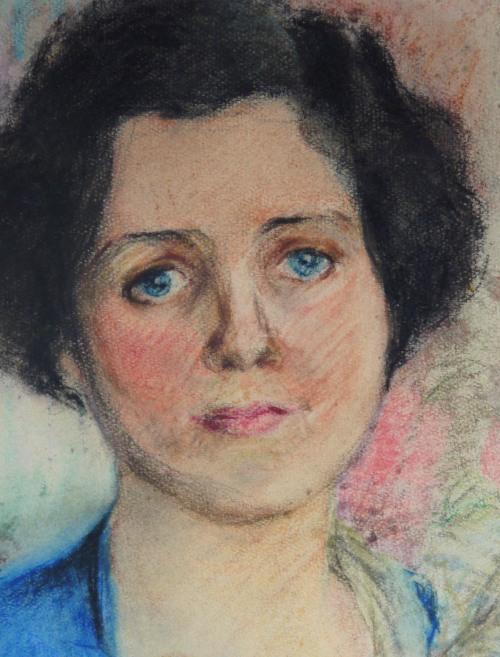 CSL Pastel of Woman